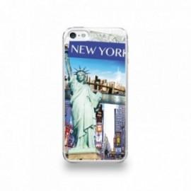 Coque  iPhone 5/5S/SE Silicone motif Vue de New-York