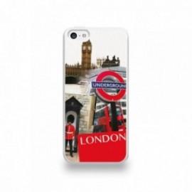 Coque  iPhone 5C Silicone motif Vue de Londres