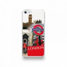 Coque  iPhone 5/5S/SE Silicone motif Vue de Londres