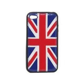 Coque iphone 4 Royaume uni bi-matière