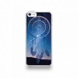 Coque  iPhone 5/5S/SE Silicone motif Attrape Rêves de Nuit