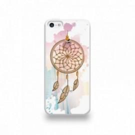 Coque  iPhone 5C Silicone motif Attrape Rêves au Vent