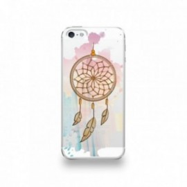 Coque  iPhone 5/5S/SE Silicone motif Attrape Rêves au Vent