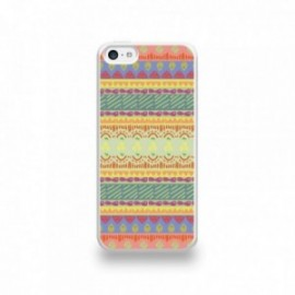 Coque  iPhone 5C Silicone motif Pattern Ibos