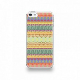 Coque  iPhone 5/5S/SE Silicone motif Pattern Ibos