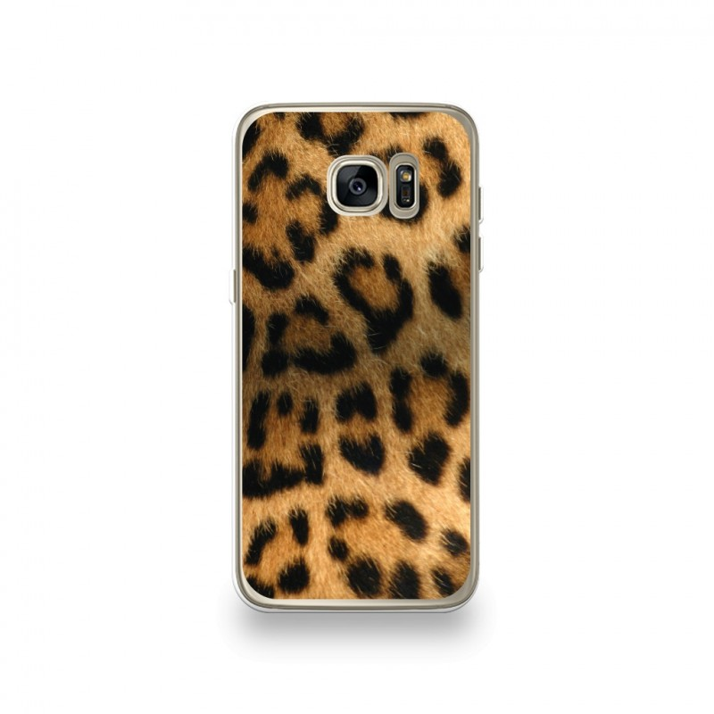 coque samsung galaxy s7 leopard