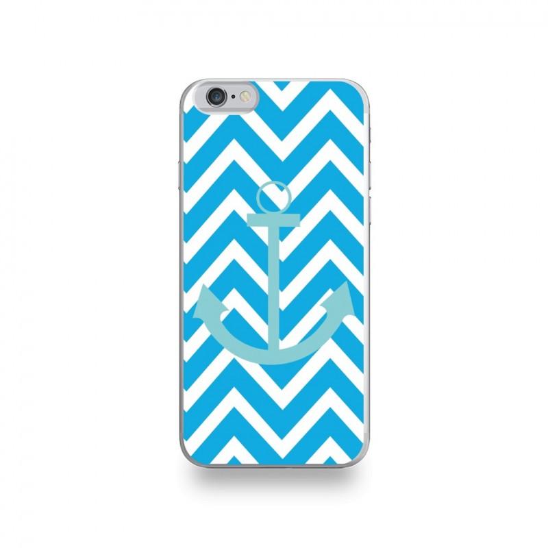 coque iphone 6 silicone bleu