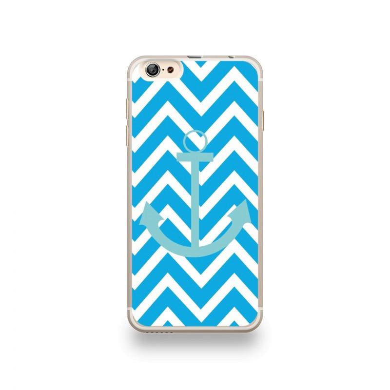 coque iphone 6 plus silicone bleu