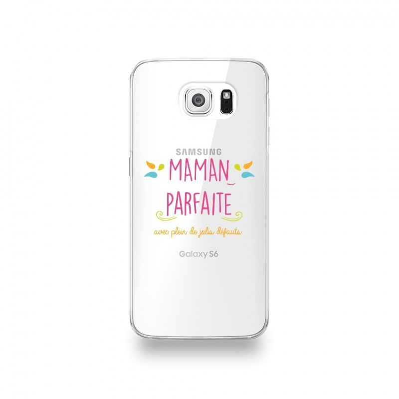 coque galaxy s6 edge motif