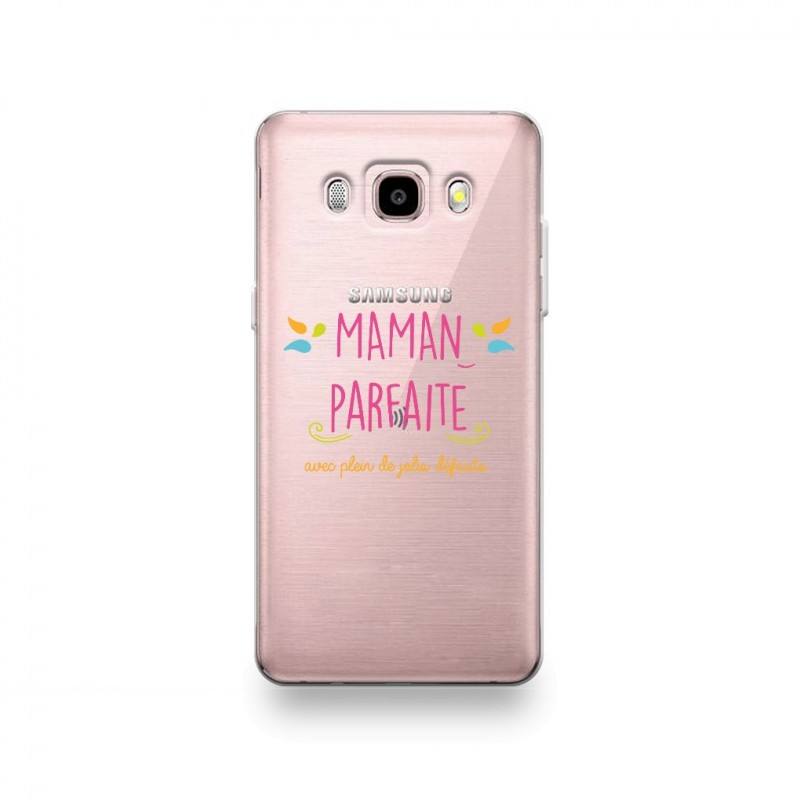 coque samsung galaxy j5 2016 silicone motif maman parfaite destination telecom. Black Bedroom Furniture Sets. Home Design Ideas