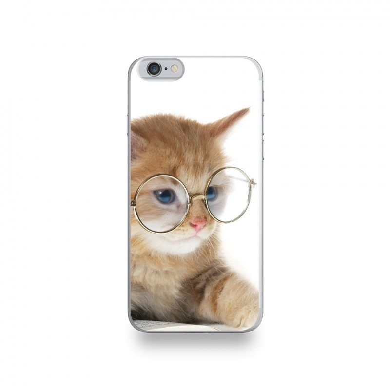 coque iphone 6 en silicone chat