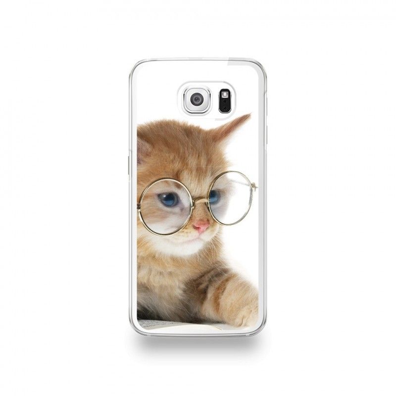 coque chat galaxy s6