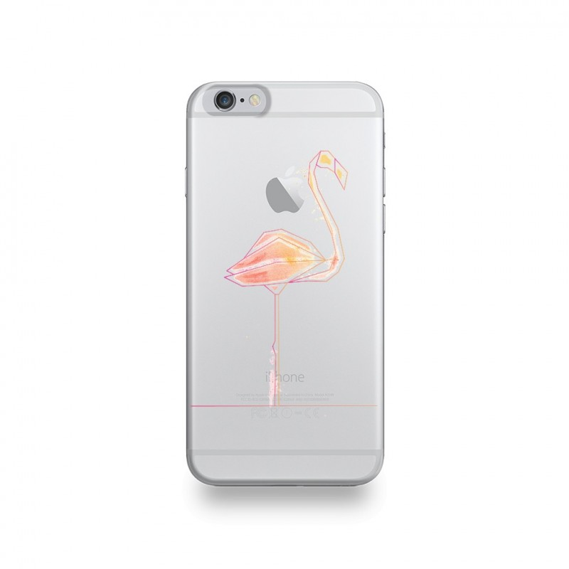 coque iphone 6 flamands roses