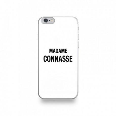 Coque iPhone 6/6S Silicone motif Madame Connasse
