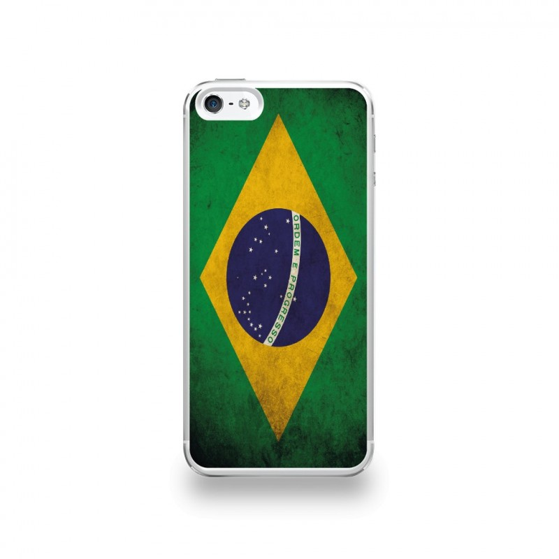 coque iphone 5 bresil