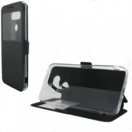 Etui LG G6 folio support vision noir