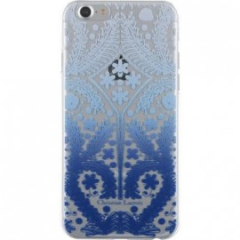 Coque iPhone 7 Christian Lacroix Paseo transparente et bleue