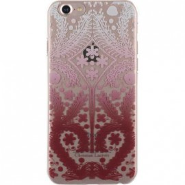 Coque iPhone 7 Christian Lacroix Paseo transparente et rose