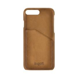 Coque iPhone 7 plus Bugatti cuir Londra sable