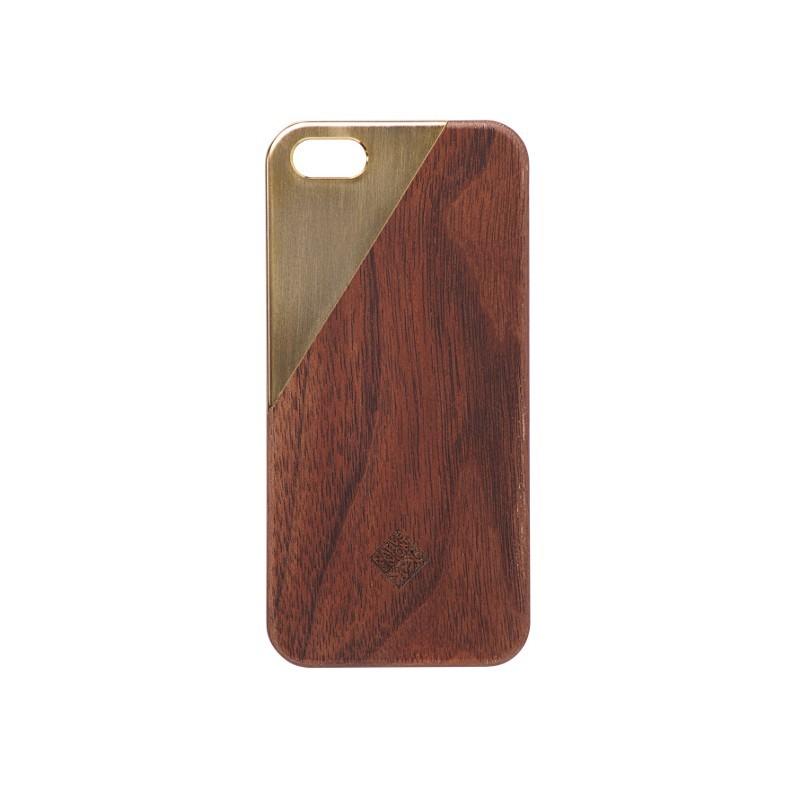 coque iphone 5 5s se native union bois et metal