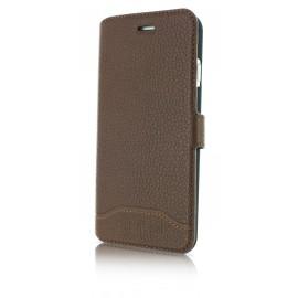 Etui iphone 6 / 6s Cerruti 1881 folio cuir marron