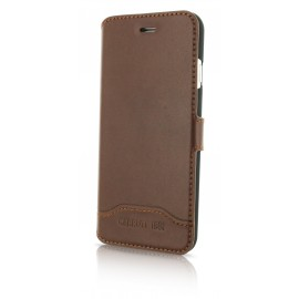 Etui iphone 7 plus Cerruti 1881 folio marron