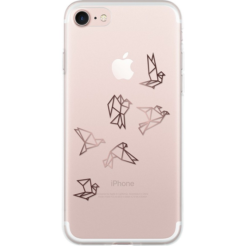 coque transparente rigide iphone 7