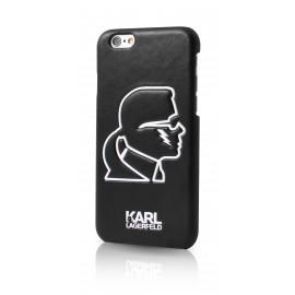 Coque iPhone 6 / 6s Karl Largerfeld K-Punk noir