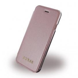 Etui iPhone 6 / 6s / 7 folio Guess rose gold
