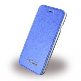 Etui iPhone 6 / 6s / 7 / 8 folio Guess bleu