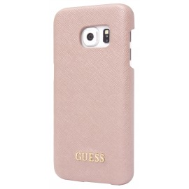 Coque Galaxy S7 G930 Guess Saffiano Rose