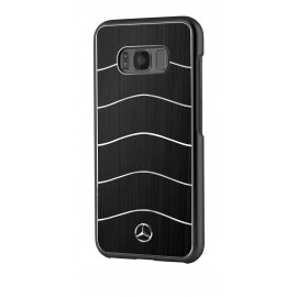 Coque Samsung Galaxy S8 plus G955 Mercedes Wave VIII Brushed Aluminium black