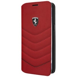 Etui Samsung Galaxy S8 plus G955 Ferrari folio Heritage Collection rouge