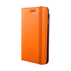 Etui iPhone 5 / 5S / SE Folio Moleskine orange