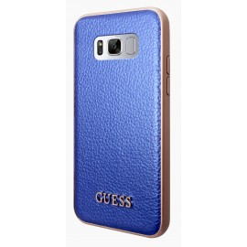 Coque Samsung Galaxy S8 plus Guess Iridescent Collection Blue