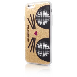 Coque iPhone 6 / 6s Karl Largerfeld K-Kocktail Gold