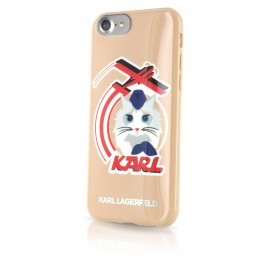 Coque iPhone 7 Karl lagerfeld K-Jet glossy