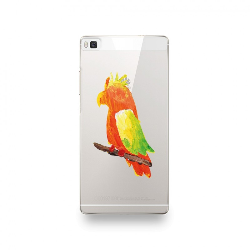coque huawei p8 lite 2017 perroquet