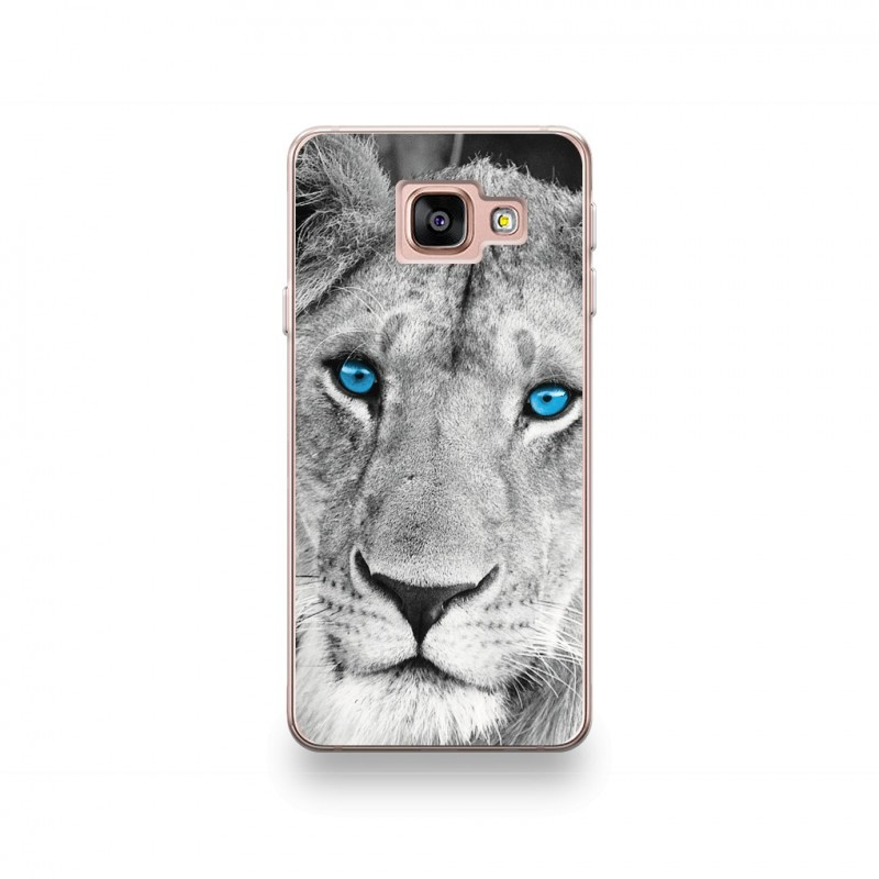 coque samsung galaxy j7 2017 silicone motif lionne aux yeux bleus destination telecom. Black Bedroom Furniture Sets. Home Design Ideas