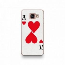Coque HTC U11 Silicone motif As de Coeur