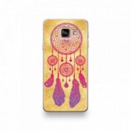 Coque HTC U11 Silicone motif Attrape Reve Rose Vintage