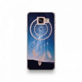 Coque HTC U11 Silicone motif Attrape Rêves de Nuit Blanc