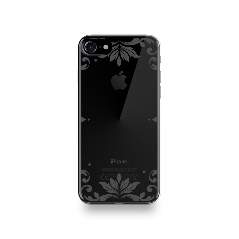 coque iphone 8 silicone miroir