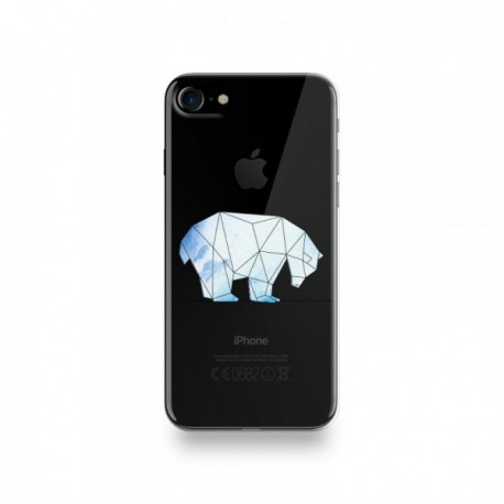 coque iphone 8 ours blanc