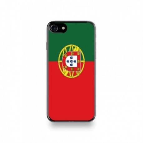 Coque Iphone X motif Drapeau Portugal