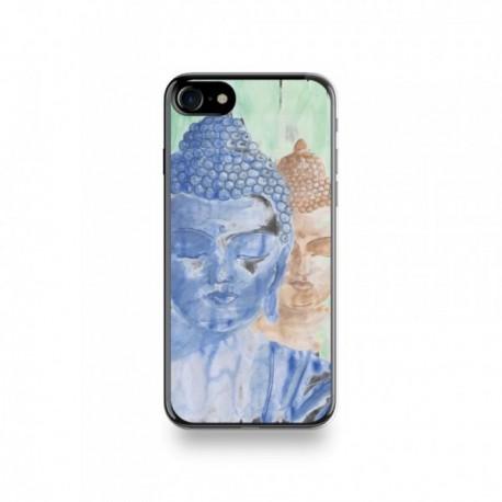 Coque Iphone X motif Les Buddhas