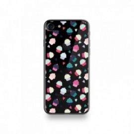 Coque Iphone X motif Motif Cupcake Coeur