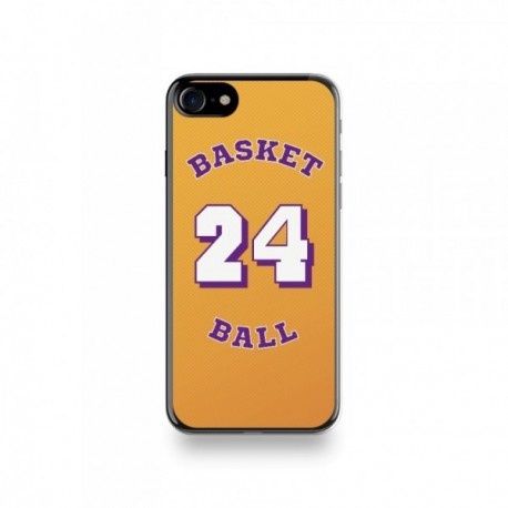 Coque Iphone X motif Joueur Basketball 24 Bryant