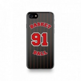 Coque Iphone X motif Joueur Basketball 91 Rodman