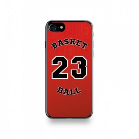 Coque Iphone X motif Joueur Basketball 23 Jordan